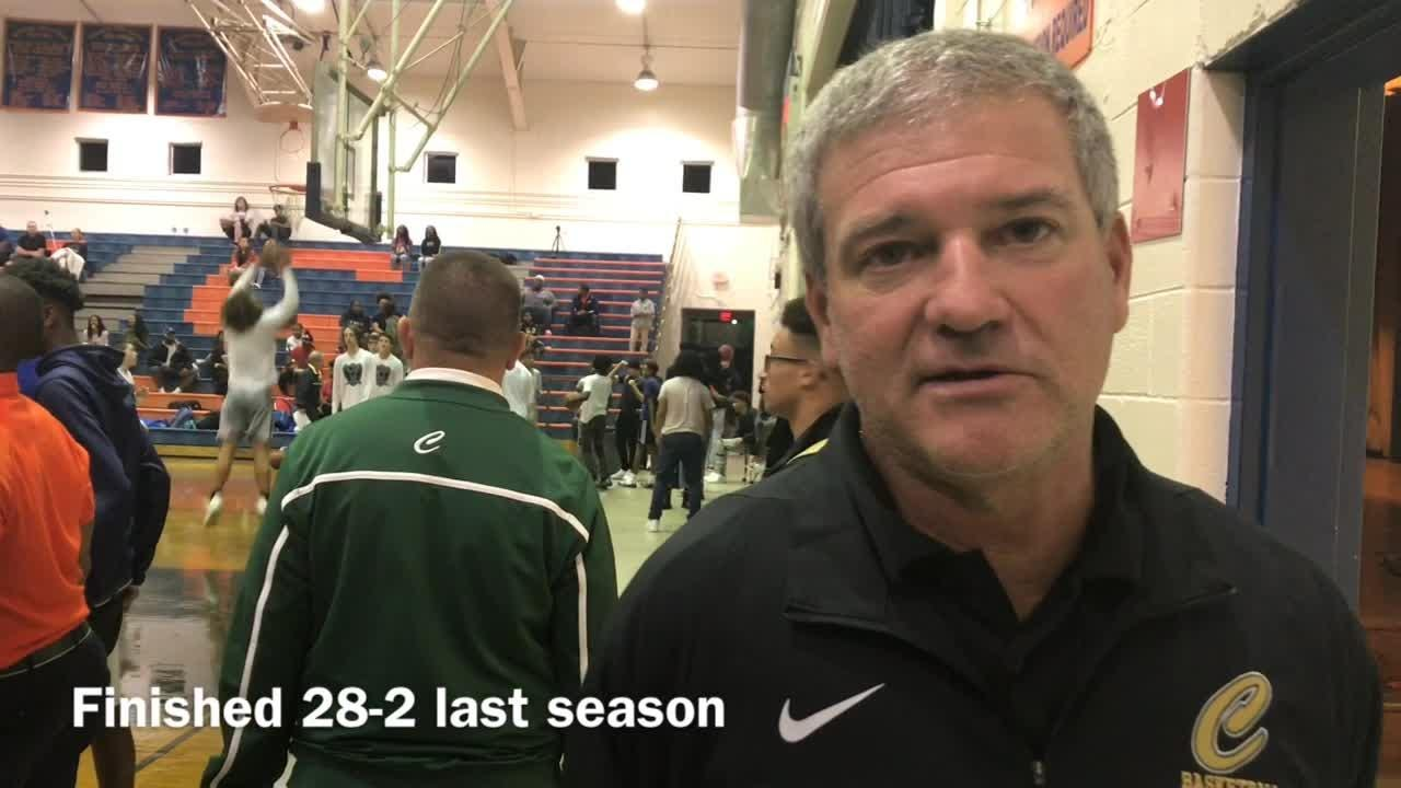 WATCH: Catholic basketball rebuilds around senior star McKenzie