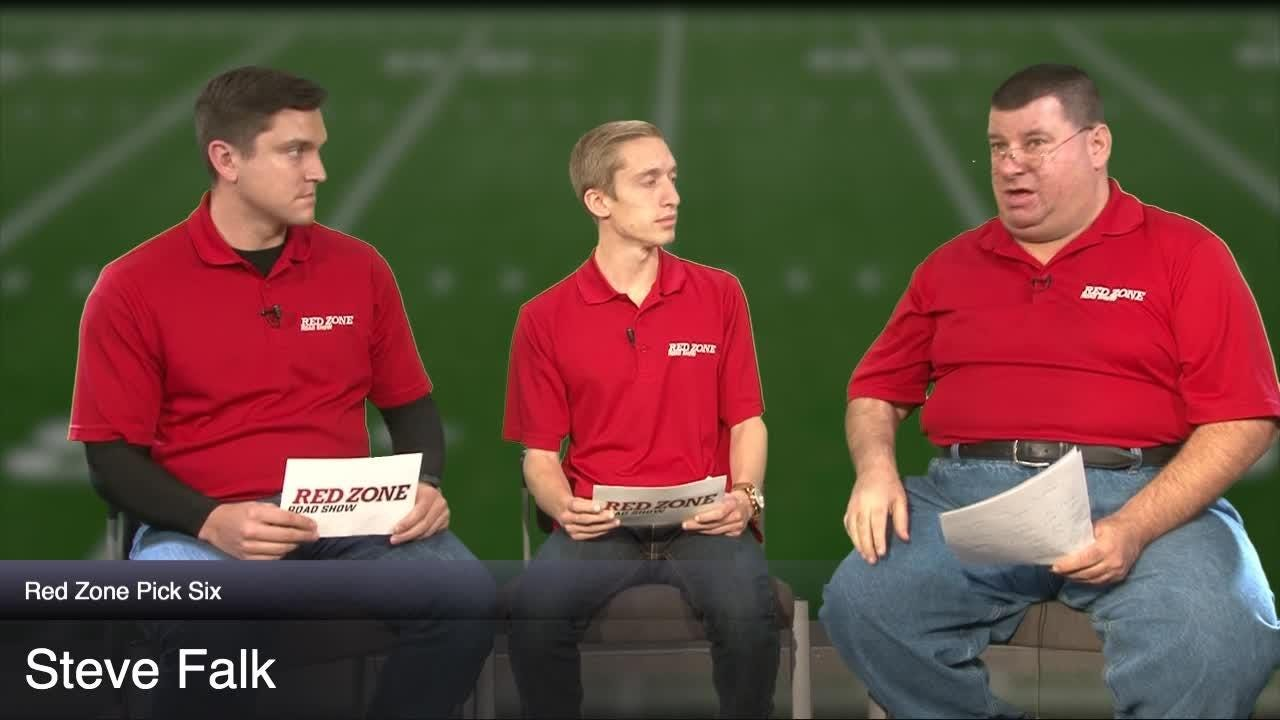 The Red Zone Road Show crew makes their picks for Thanksgiving weekend games. See if you can beat them!