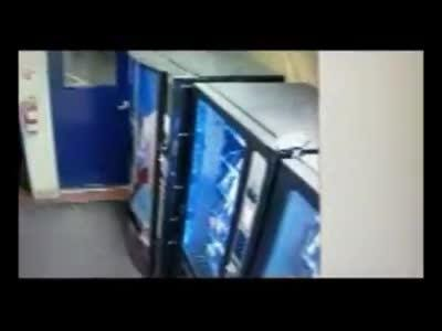 Just another day on Donner Pass: A bear stands up like a human to open the door at a CHP office. He wanders past the vending machines and .... wait for it ... gets chased out. (Video from November 2018)