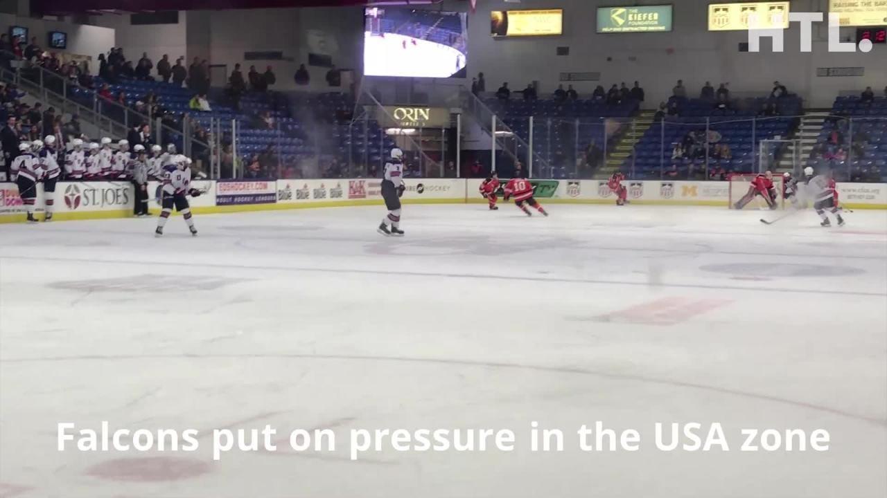 Thanksgiving Eve hockey contest pits Bowling Green vs Team USA