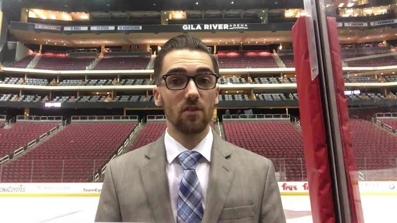 Richard Morin breaks down the Coyotes' overtime loss to the Golden Knights.