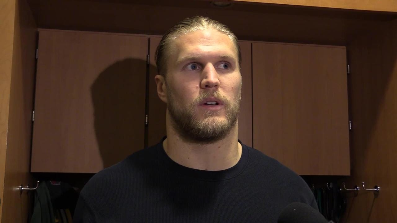 Packers' linebacker Clay Matthews discusses how he felt the Thanksgiving practice went ahead of their road game against the Vikings.