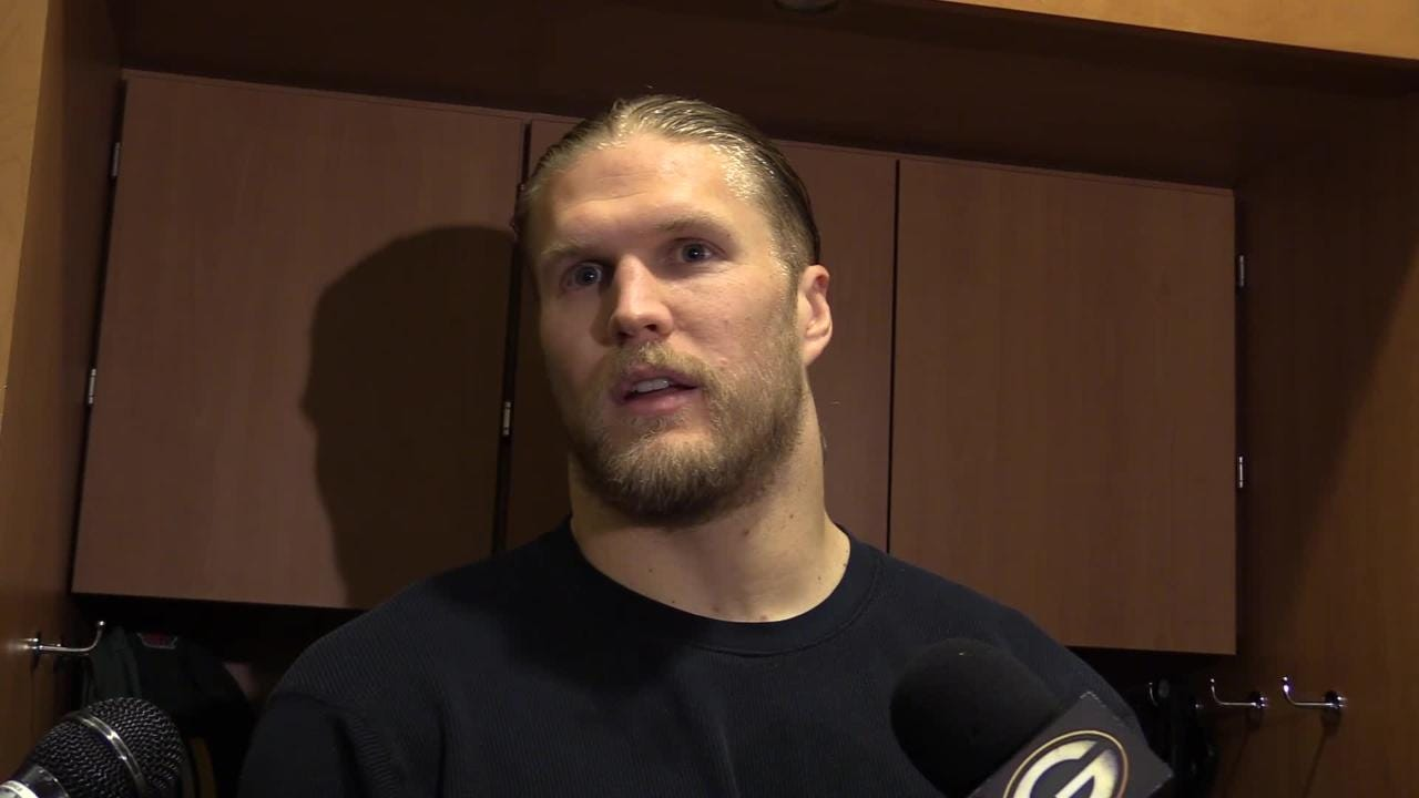 Packers' linebacker Clay Matthews praises Kyler Fackrell for his recent emergence and discusses Fackrell's importance to with Minnesota looming.