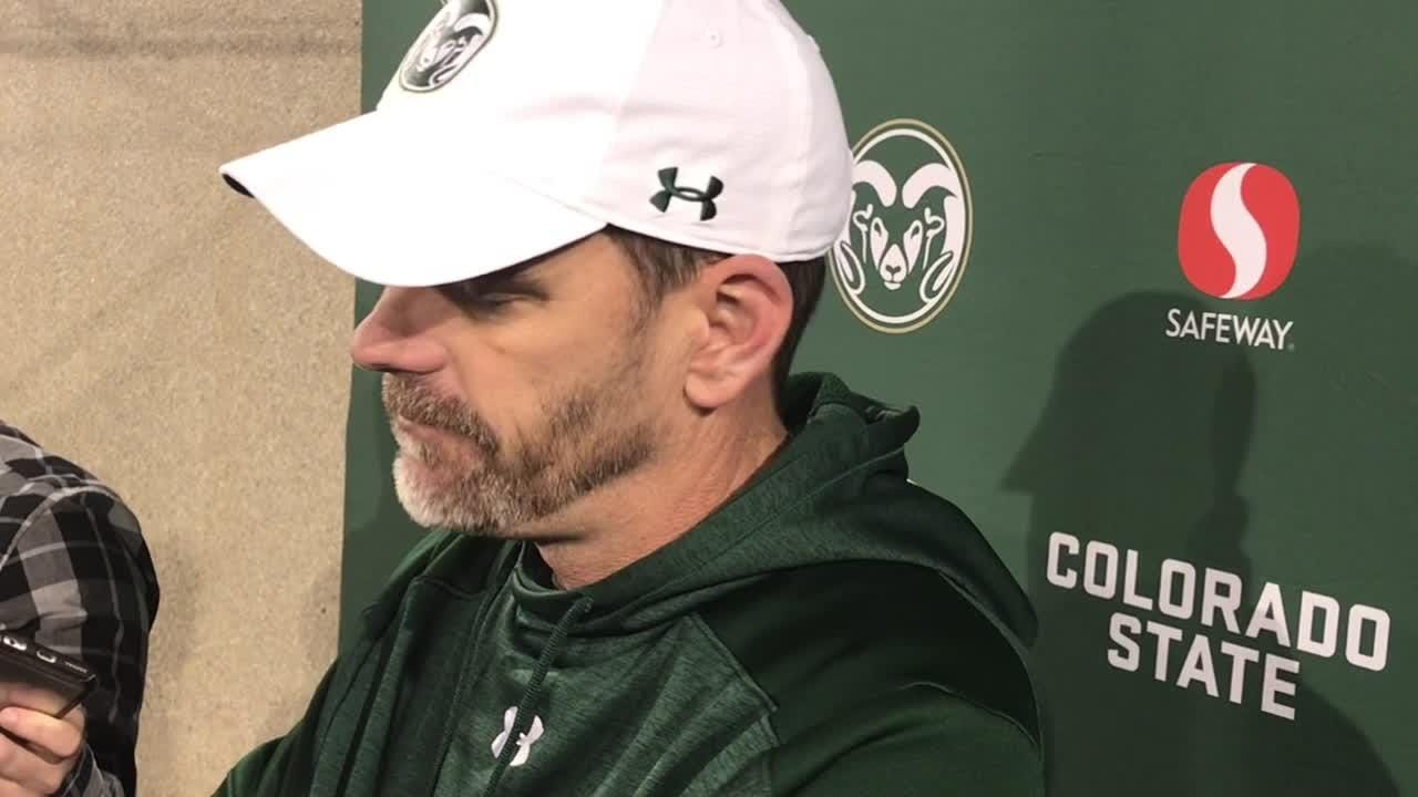 Rams were pushed back on both offense and defense throughout a 3-9 season, fourth-year coach says after loss at Air Force