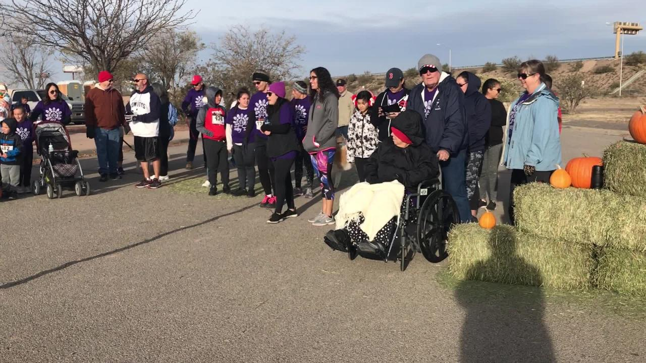 16th annual Ultimate Fitness Turkey Trot, Thanksgiving Day, 2018, Deming, NM