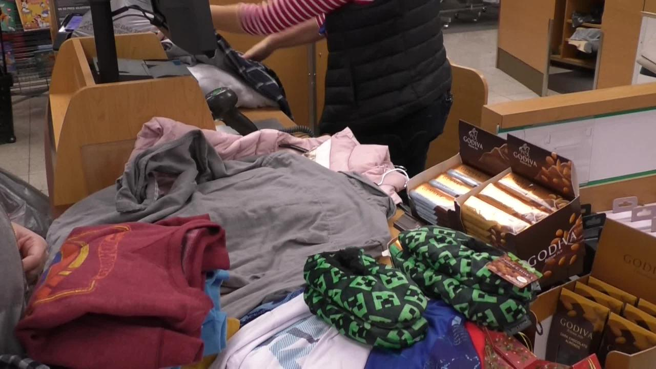 Louisville shoppers were up before dawn for Black Friday deals. Watch as they explain why they came out.