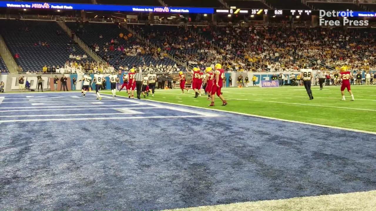 michigan high school football reading s title run began in 2016