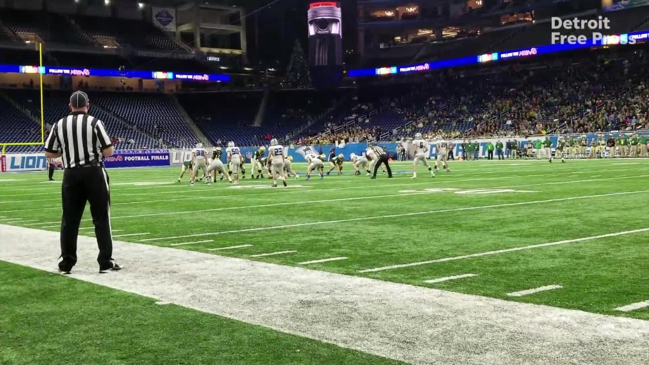 Michigan High School Football Playoffs Division 6 Highlights
