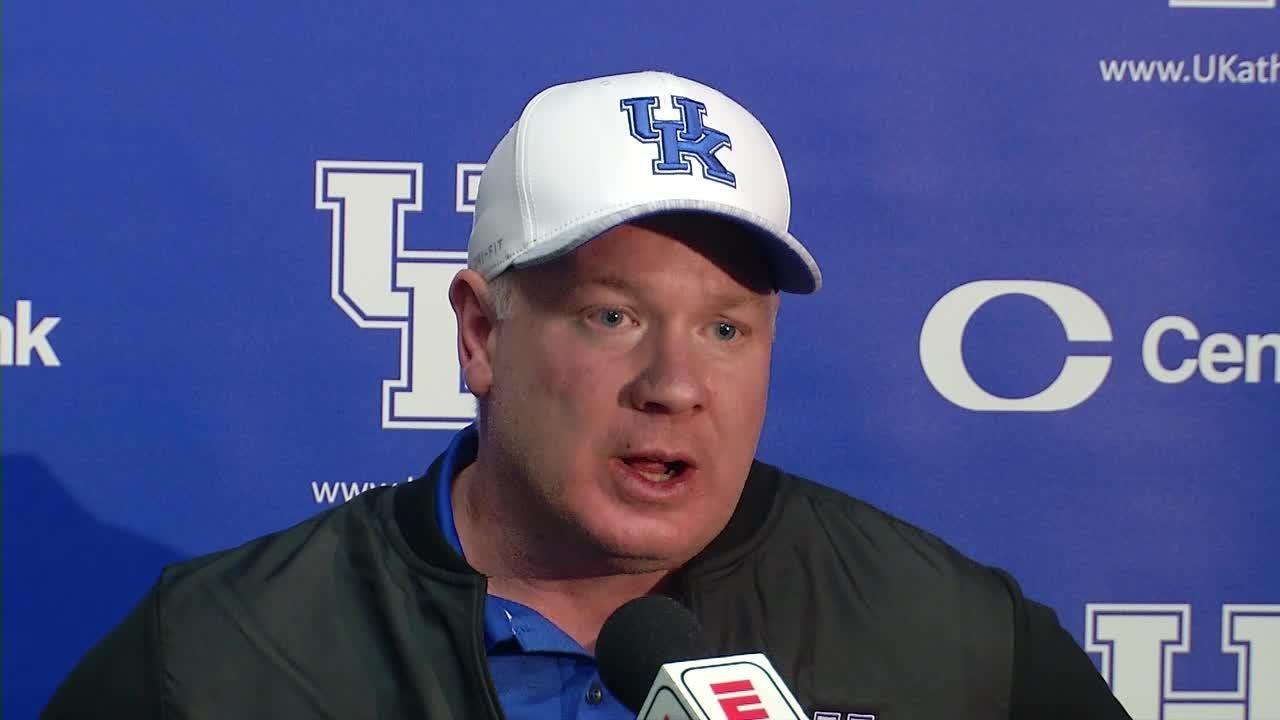 Kentucky Football Uk To Face Penn State In Citrus Bowl