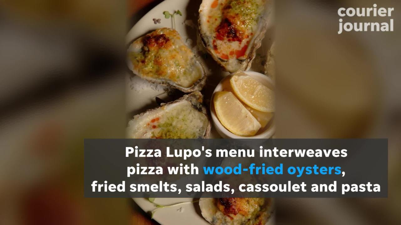 Not only is the pizza at Pizza Lupo good, but so is the handmade pastas and other menu items.