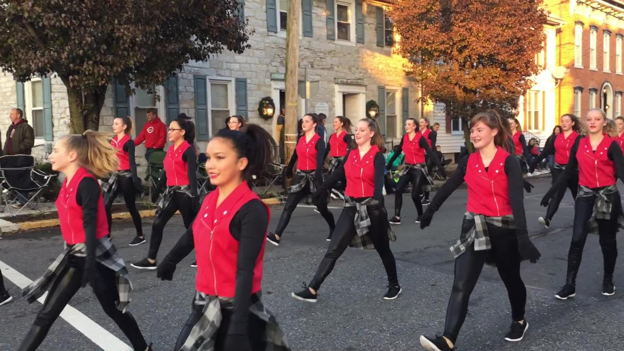 Generation Dance performs at the Lebanon Holiday  Parade on Sunday, Nov. 25, 2018