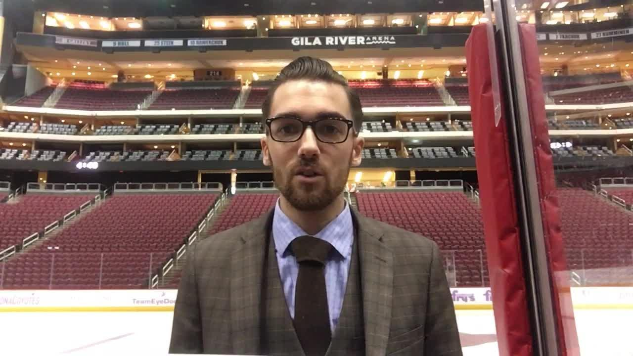 Richard Morin breaks down the positives and negatives from the Coyotes' 6-1 loss to Flames on Sunday.