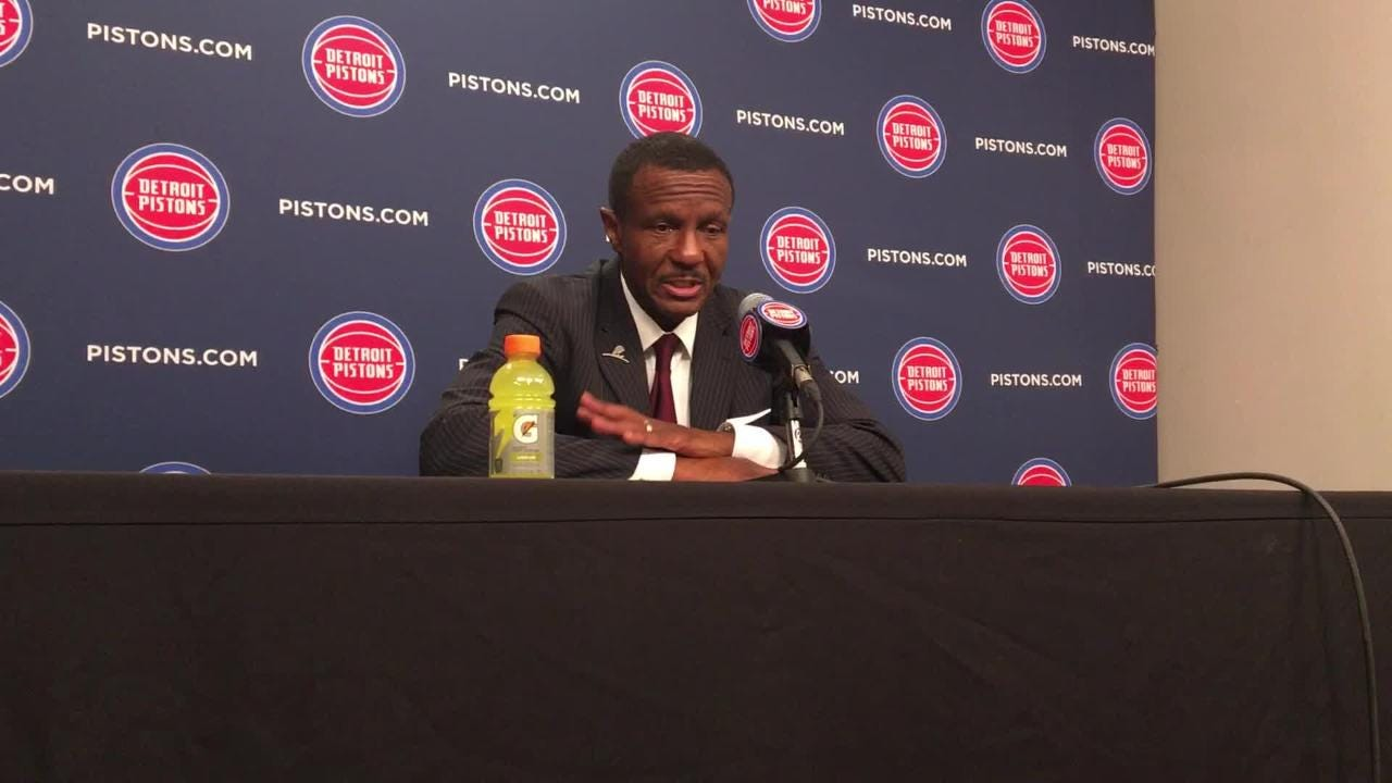 The Pistons slowly pulled away in the second half on the way to a 118-107 victory over the Phoenix Suns.
