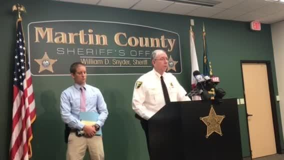 Martin County Sheriff William Snyder said the man that was killed in a Martin County shooting had a criminal history.