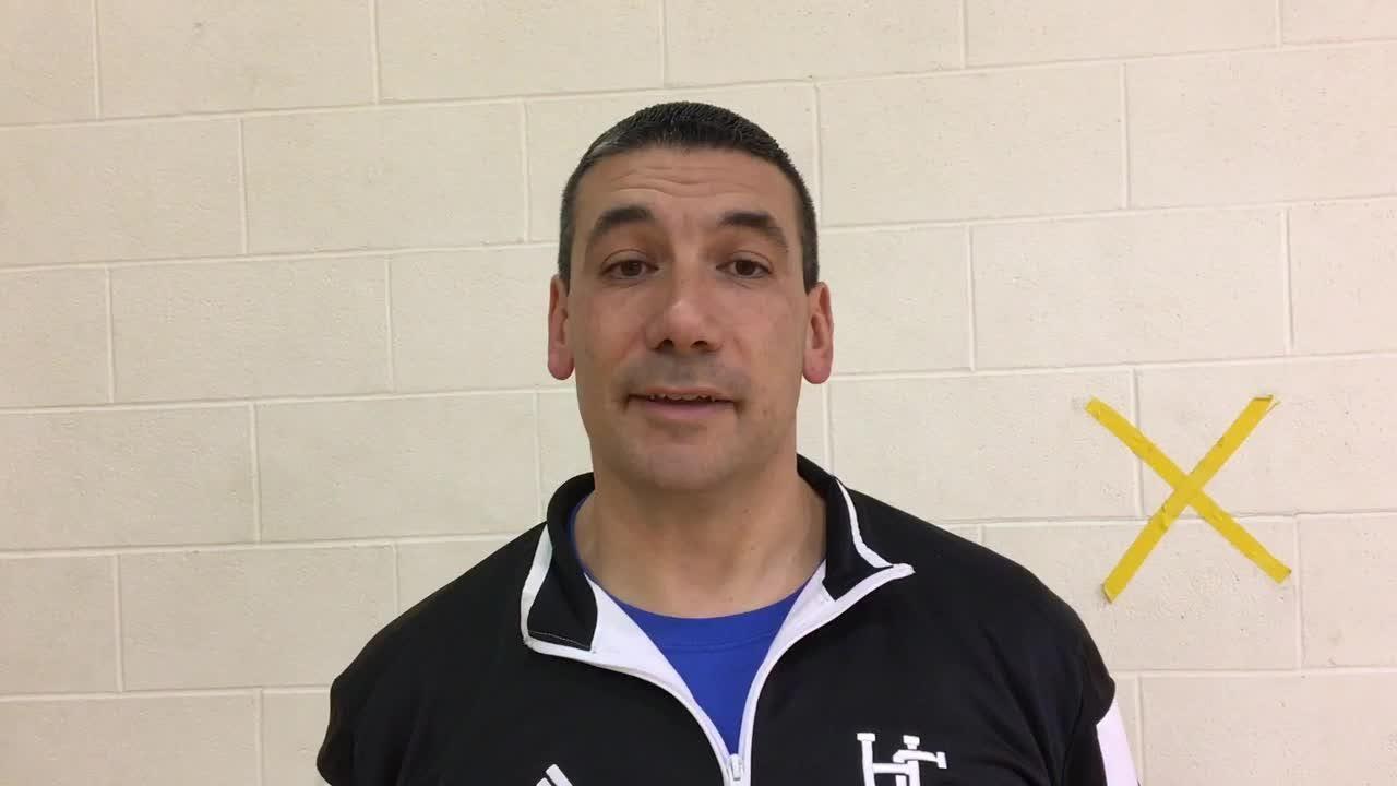 Harper Creek coach Matt Bowling talks about the 2018-19 basketball seaon