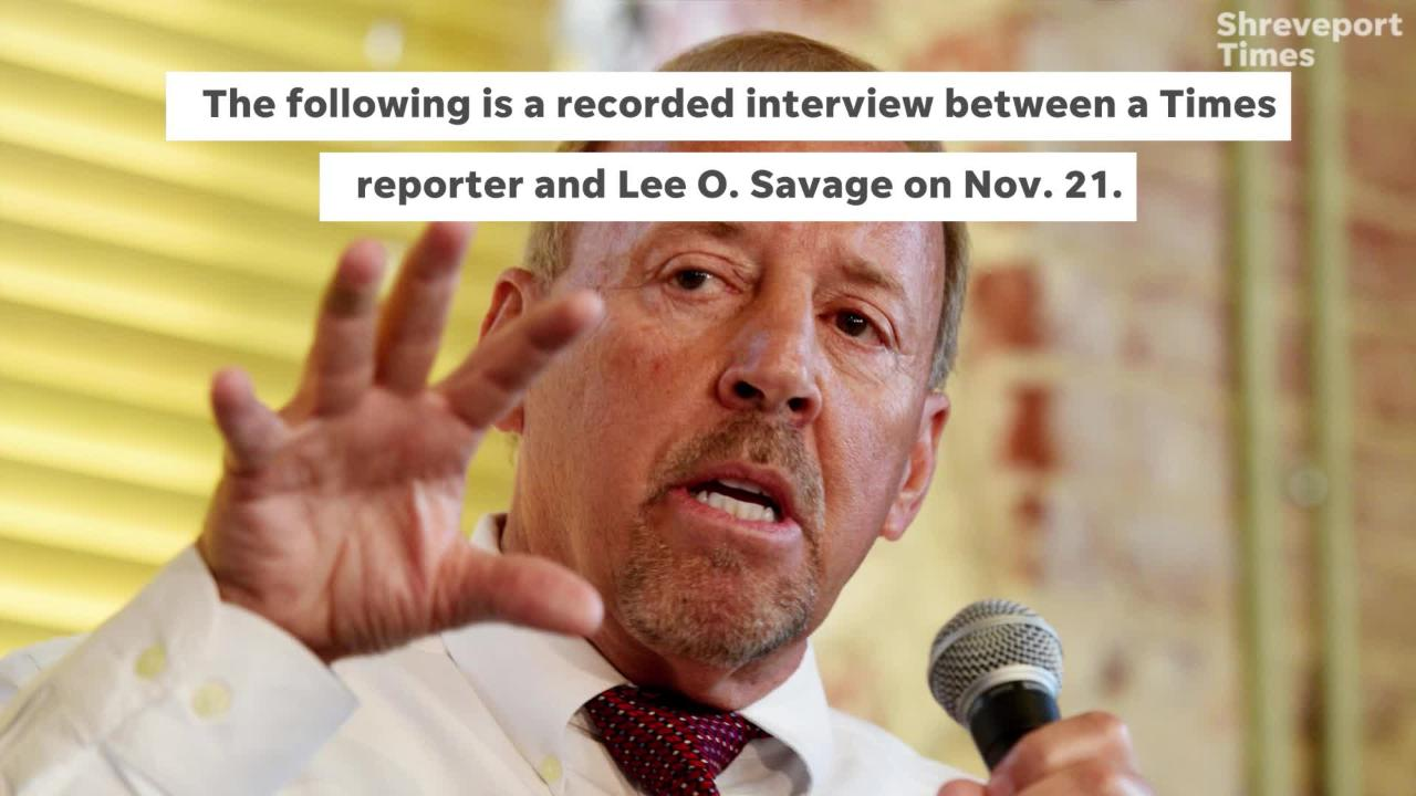 Savage requested to be named the city's CAO, he told a Times reporter.