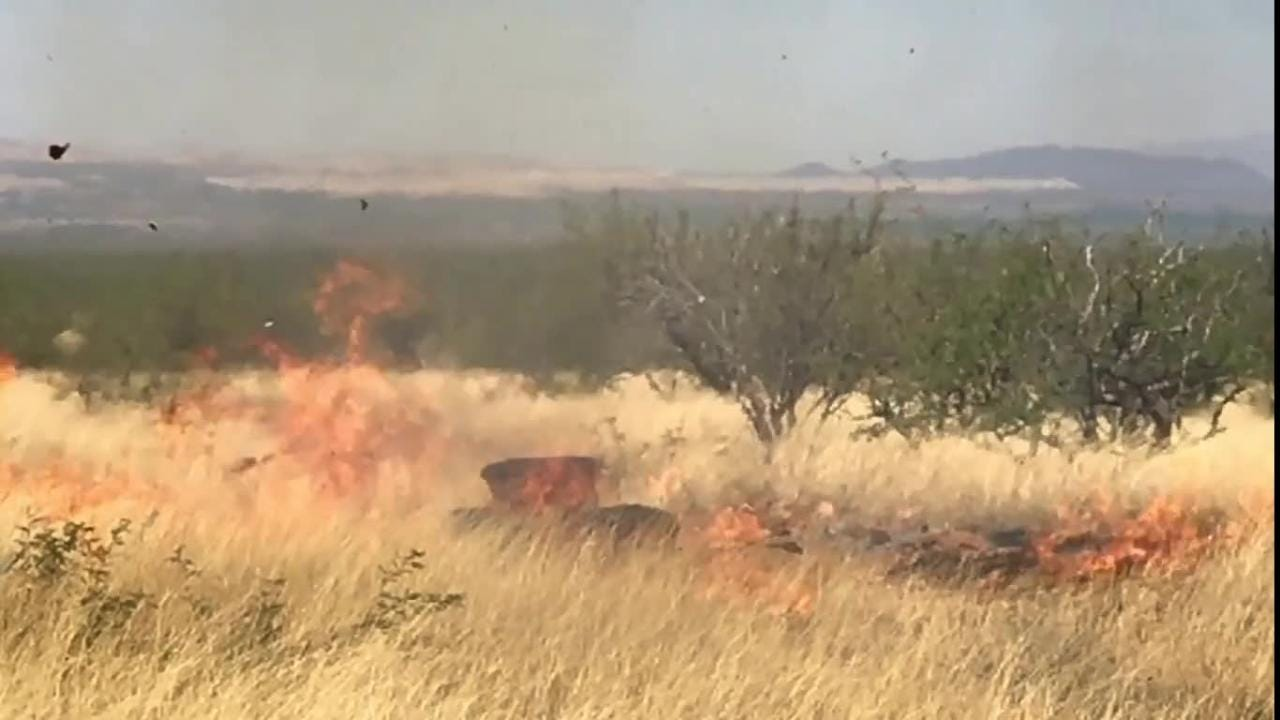 The Sawmill Fire that burned over 45,000 acres in southern Arizona in 2017 was caught on video and released to the Arizona Daily Star Monday.
