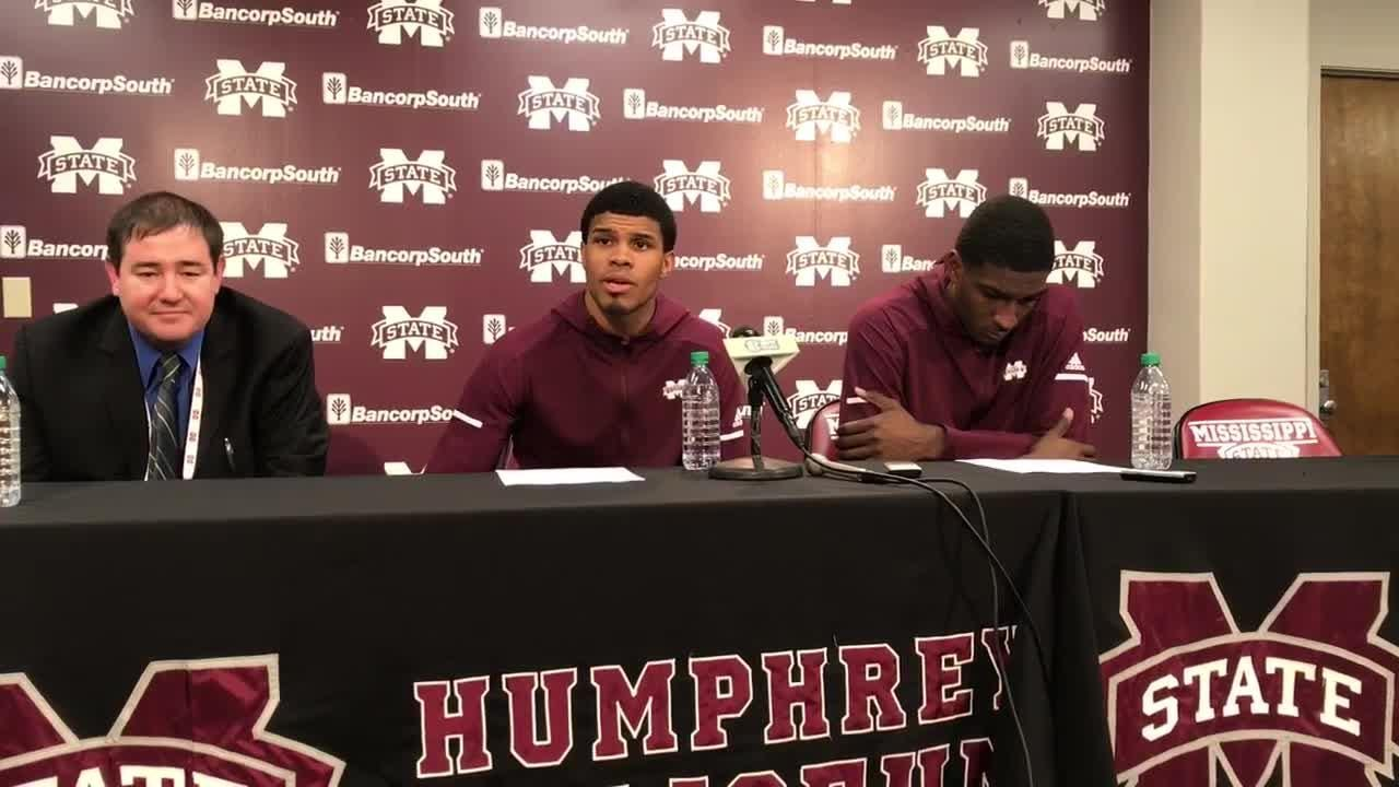 Mississippi State junior guard Lamar Peters discusses the Bulldogs' 3-point shooting.