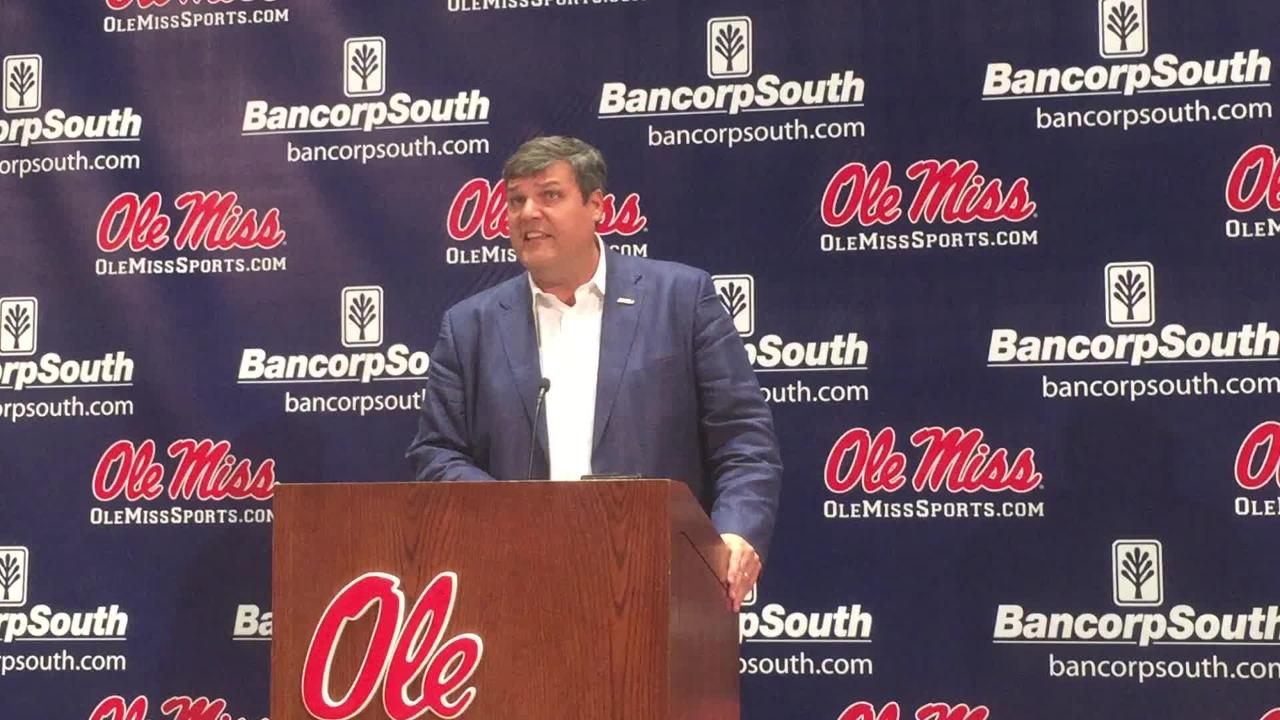 Ole Miss coach Matt Luke opened his press conference Tuesday with a passionate speech about the future of Ole Miss football.