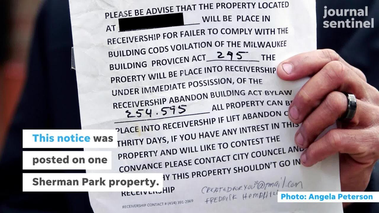 Man with title to late father's home finds house broken into and gets 'legalgobbledygook' notice from scammer saying home has been seized.