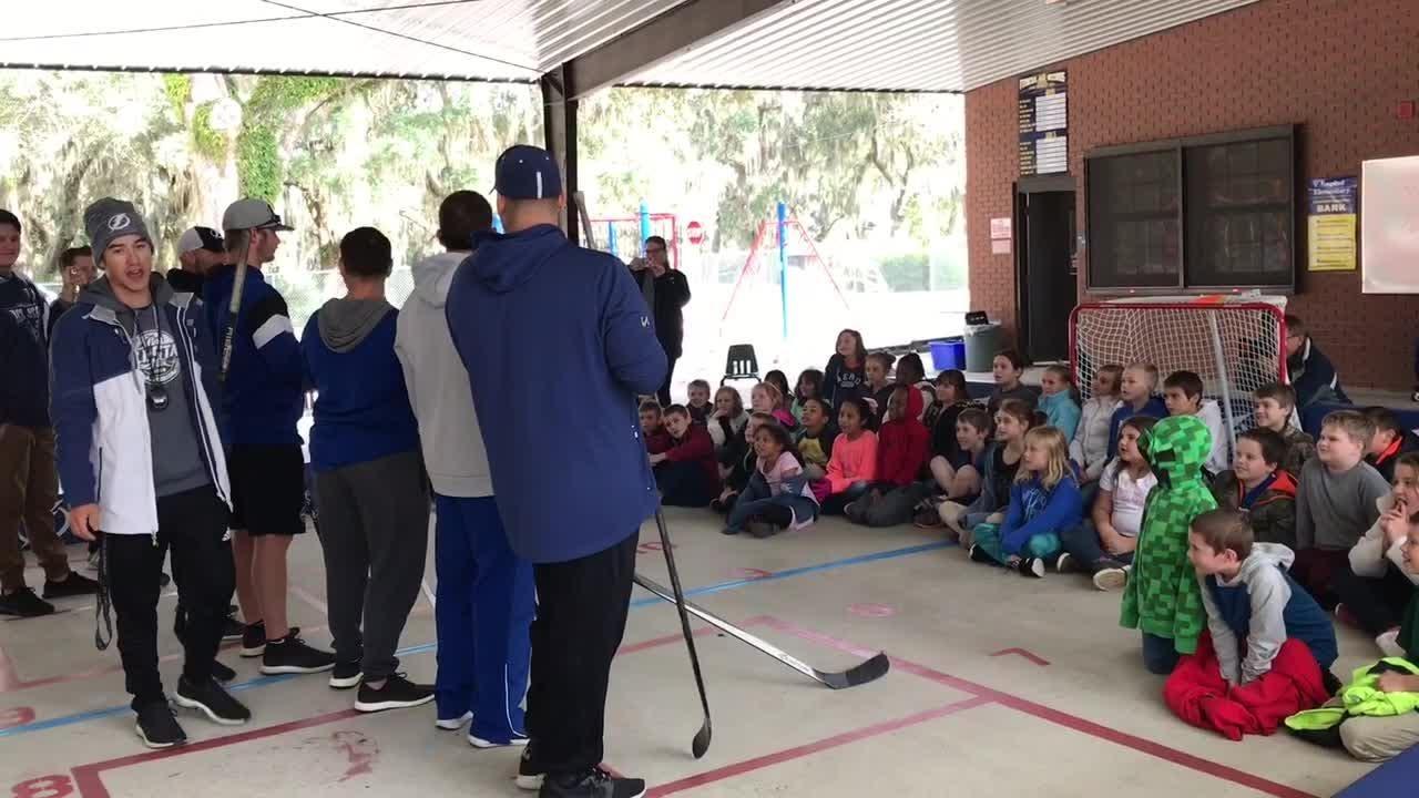 Former Ice Pilots star Metropolit returns to help grow hockey in schools