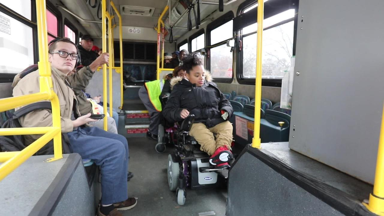 Sisters Zasia Davis and Diana Bouknight recount the TransDev bus service story that left Diana stranded outside her job for hours in the rain.