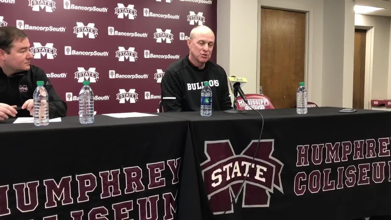 Mississippi State head coach Ben Howland talks about the Dayton Flyers.