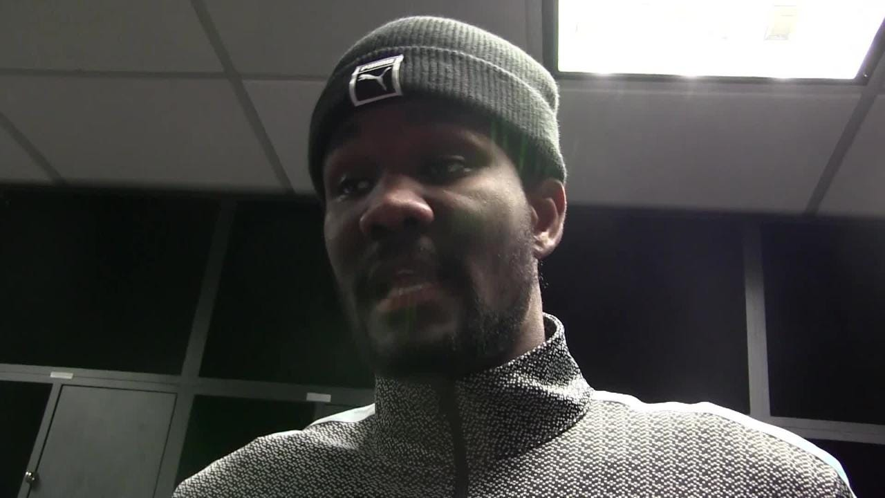 Phoenix Suns rookie 7-footer Deandre Ayton talks about facing Boban Marjanovic in Wednesday night's 115-99 loss at the Los Angeles Clippers.