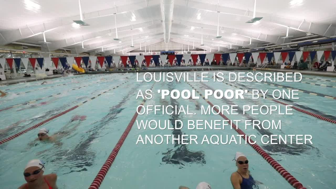 Louisville studies aquatic center cost for local swimmers, national meets