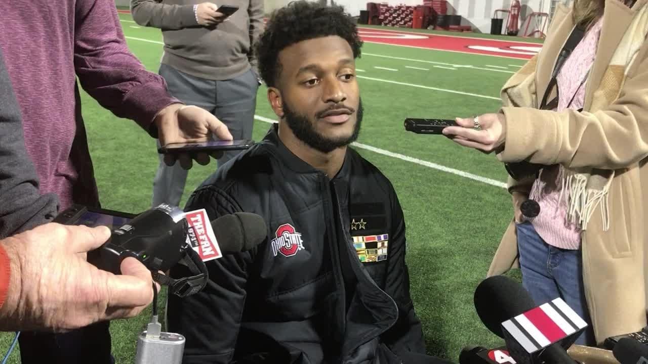 OSU receiver K.J. Hill says BIG title main focus, but realizes Buckeyes also need to impress playoff committee vs. Northwestern