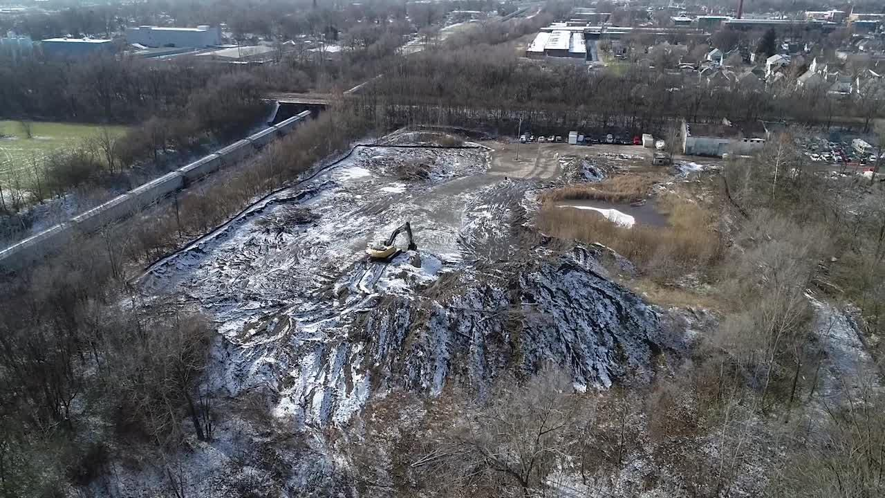 After years of complaints and legal battling, the massive pile of black sand on the eastside is headed for a new home.