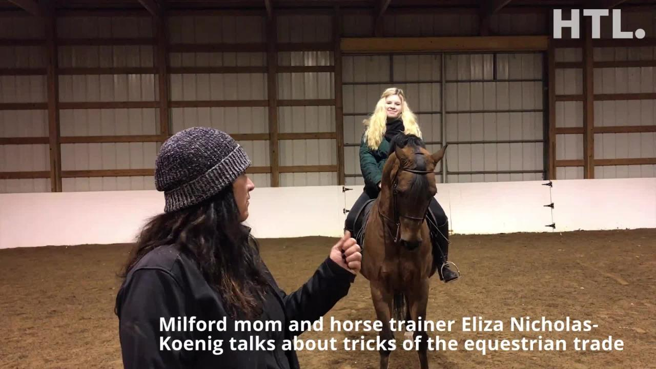 Milford equestrienne Meara Kent and 10-year-old horse Wizard continue training for that next big competition