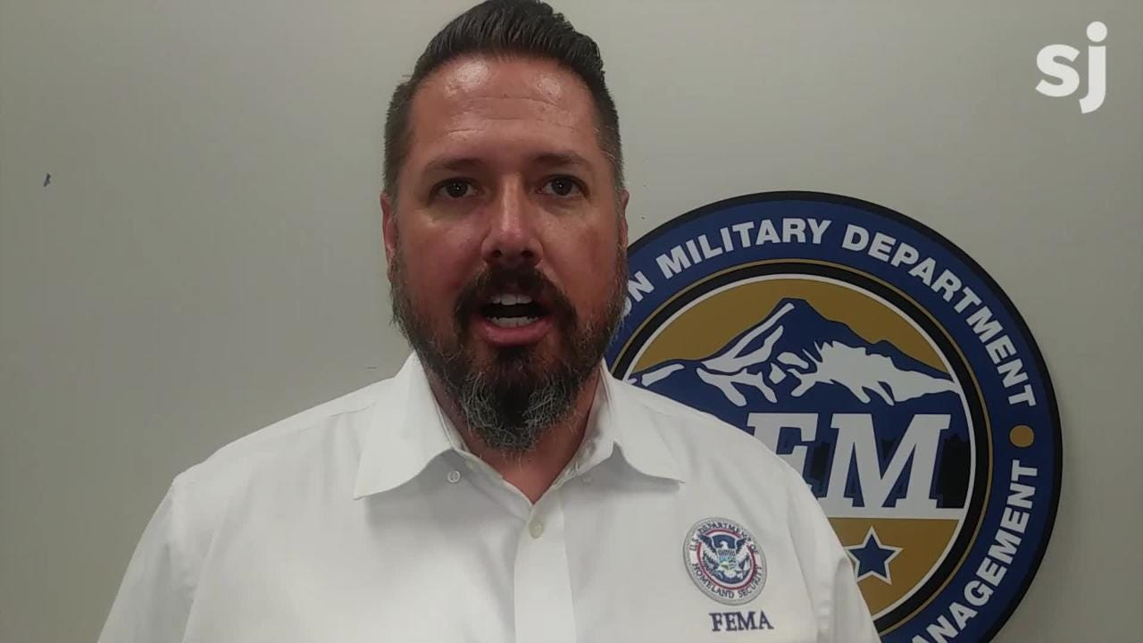 Tom Erickson, the FEMA integrated team lead in Oregon explains how a team of four people from FEMA will help Oregon with emergency management.
