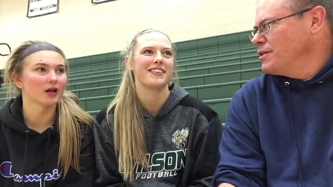 Following Wilson Memorial's season opening win over Waynesboro, the Hornets Korinne Baska and Paris Hutchinson join The News Leader's Patrick Hite.