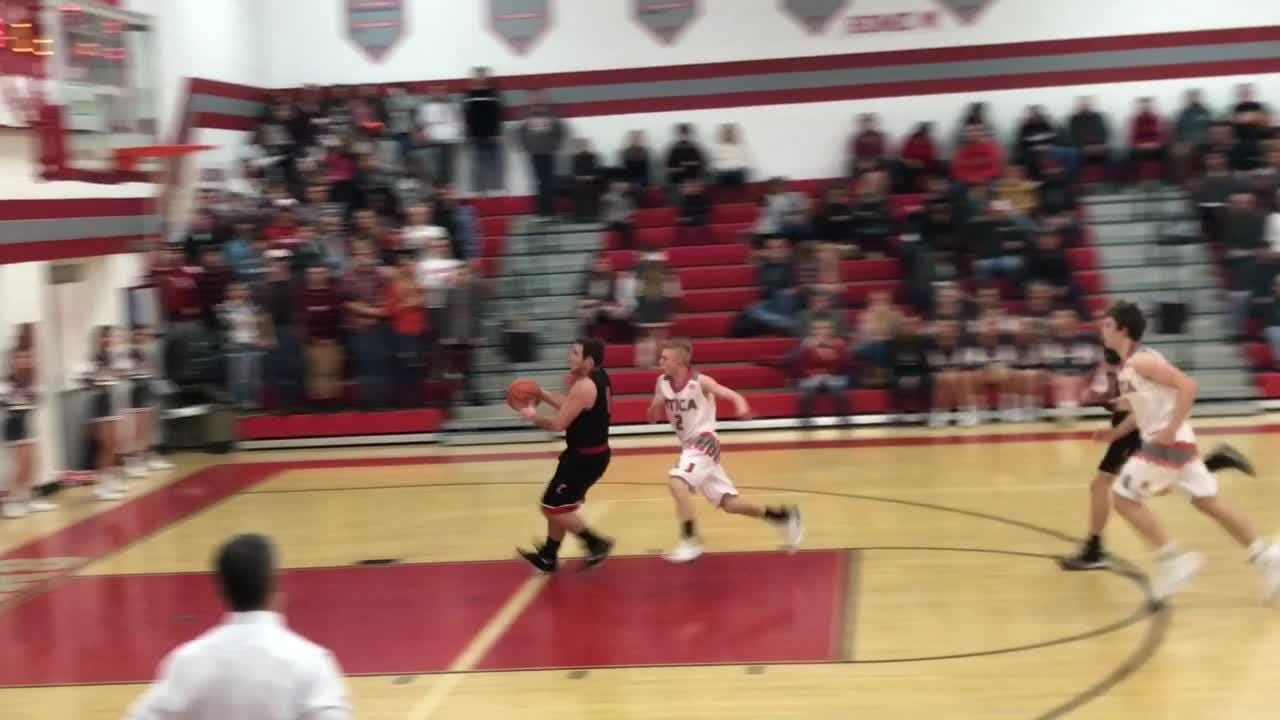 Cardington pulled away down the stretch to beat Utica 41-30.