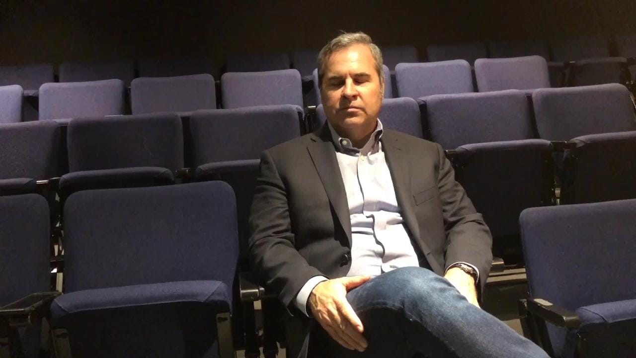 Florida Rep's new artistic director, Greg Longenhagen, talks about why he wanted the job and what the Fort Myers theater means to him.