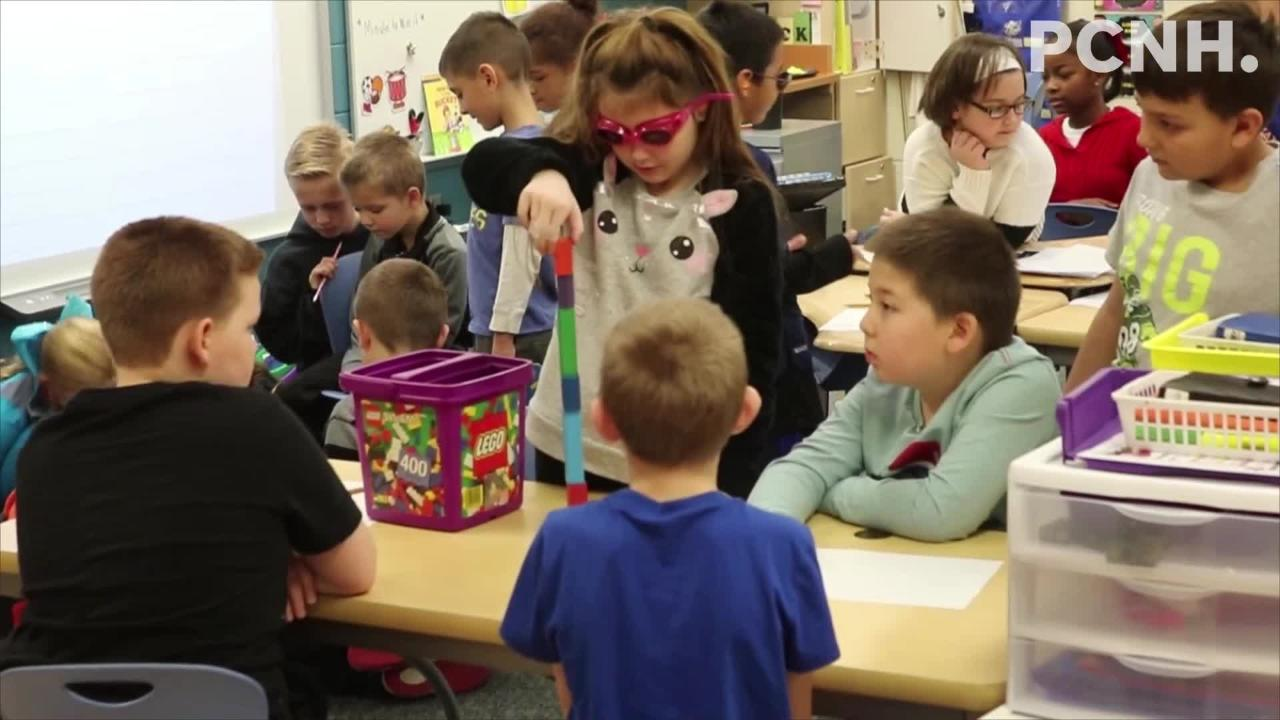 Students at Bataan Primary got a special lesson on aging, treatment of the elderly and a little bit of what it is like for those of very old age.