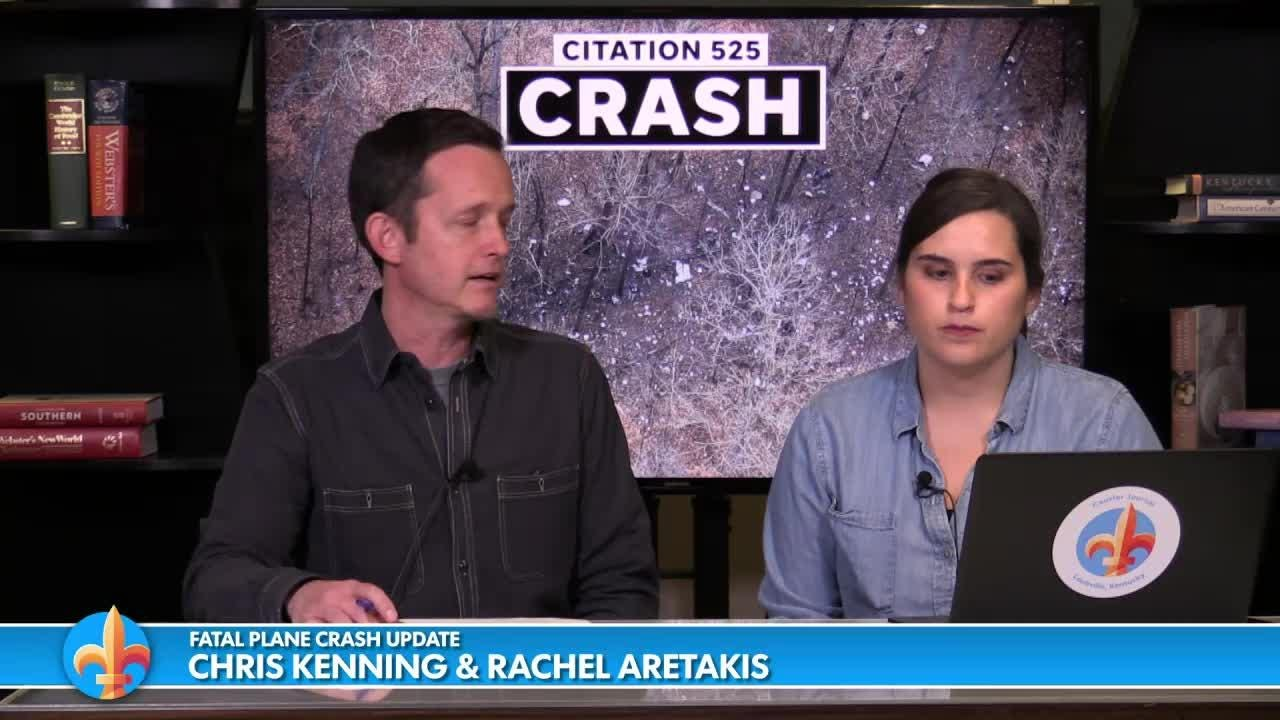 Chris Kenning and Rachel Aretakis update the plane crash in the Memphis, Ind. area.