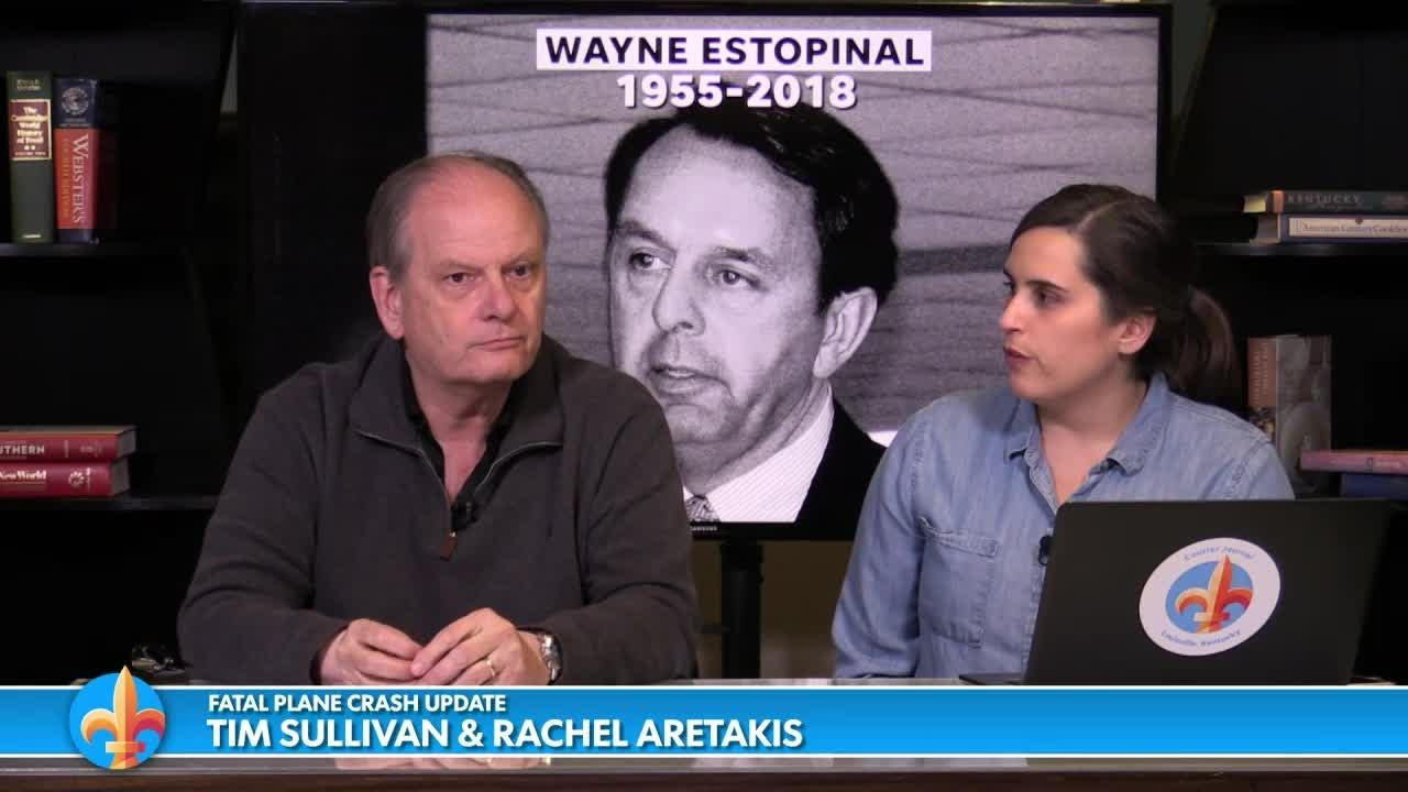Rachel Aretakis talks with Tim Sullivan about Wayne Estopinal, who died in the crash.