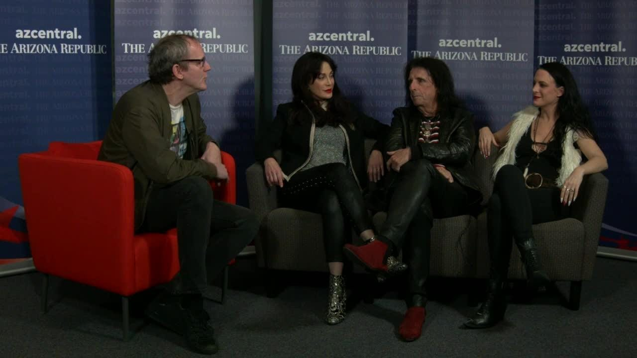 Alice Cooper's daughter, Calico, talks about her band Beasto Blanco and how she got into music.