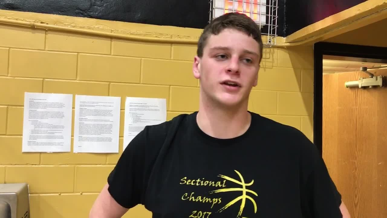Paint Valley High School's boys basketball team defeated Portsmouth West 63-55 at home as Bryce Newland scored 17 points in the first half.