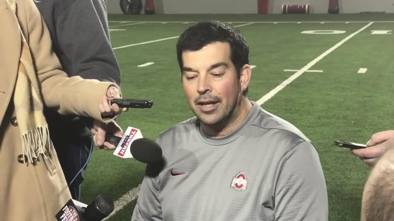 OSU offensive coordinator Ryan Day says QB Dwayne Haskins' big day vs  Michigan began up front