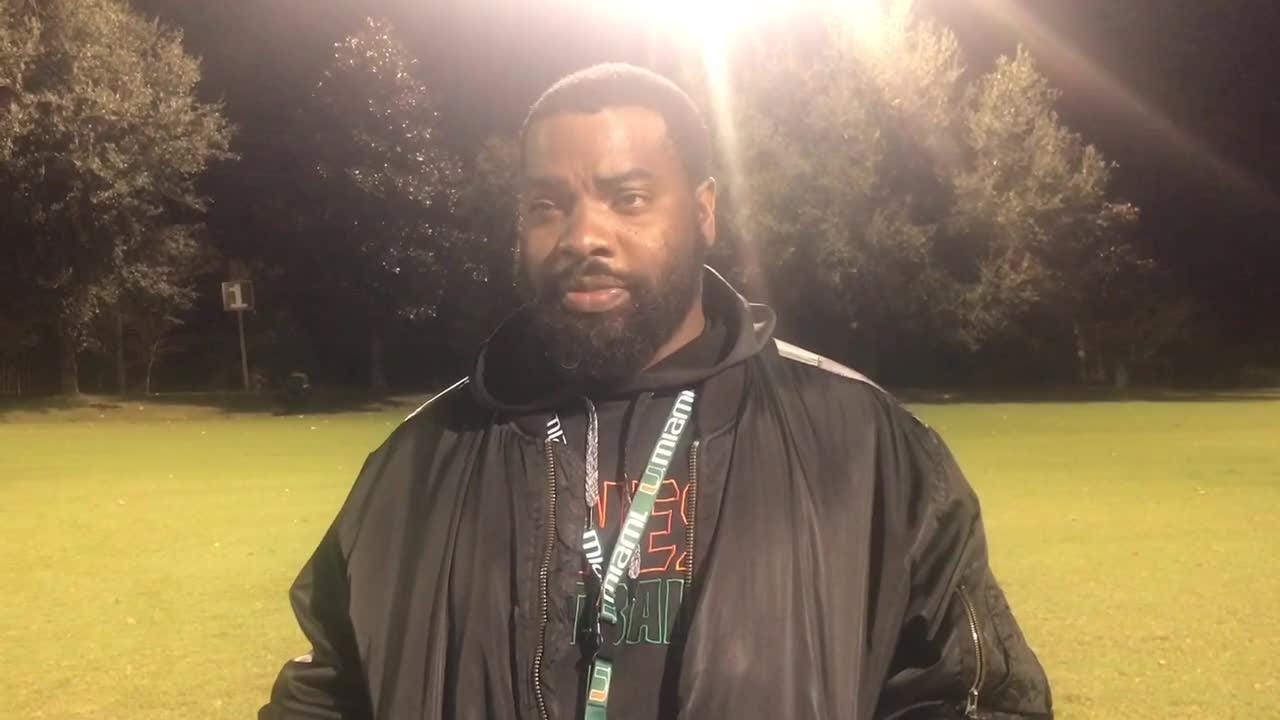 WATCH: Chaires-Capitola Pop Warner Eagles head coach Tremaine Hughes previews his team's championship game in Orlando.