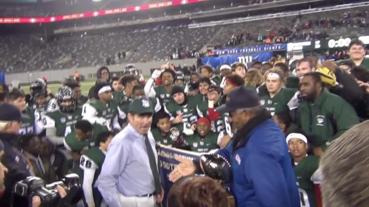 Long Branch defeated Shawnee 20-17 at MetLife Stadium in the first ever NJSIAA Group IIII Central-South Jersey Bowl Game