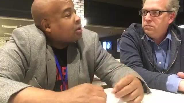 Free Press sports writers Vince Ellis and Shawn Windsor break down Pistons win over Warriors, & look at the team after 20 games. Filmed Dec. 1, 2018.