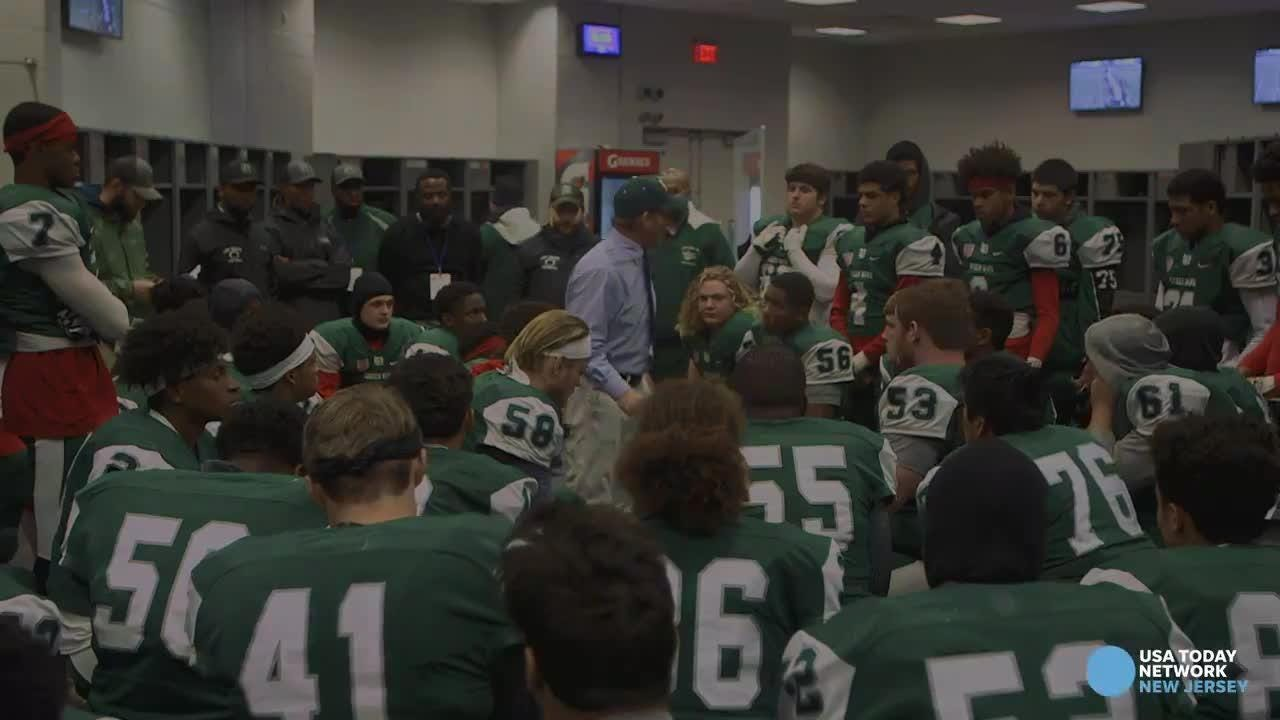 Long Branch Coach Dan George tries to motivate his team to a championship with one last rousing speech