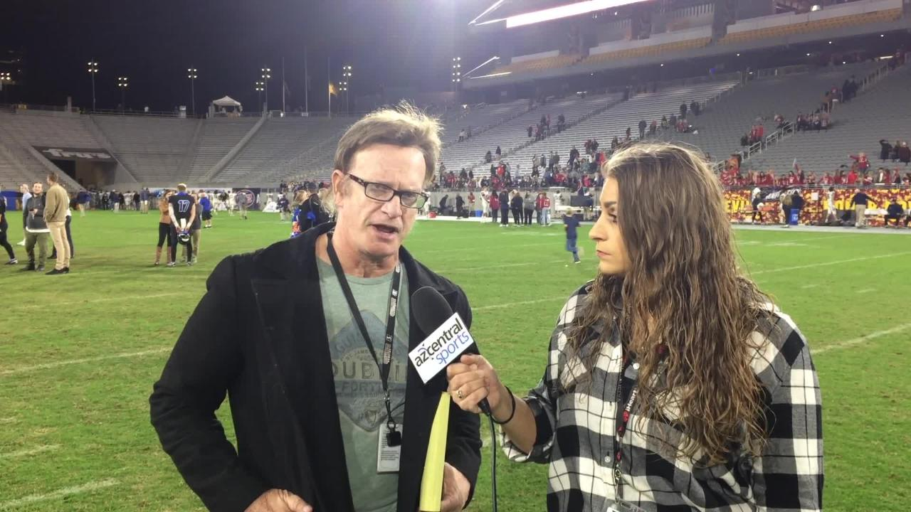 Brittany Bowyer and Richard Obert talk about Chandler's 65-28 victory over Perry to win the 6A state championship.