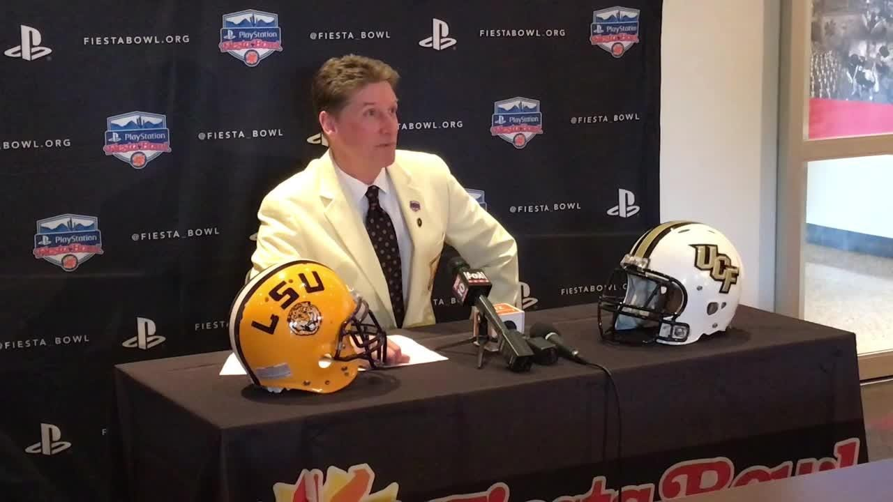 Fiesta Bowl executive director Mike Nealy on UCF vs. LSU matchup