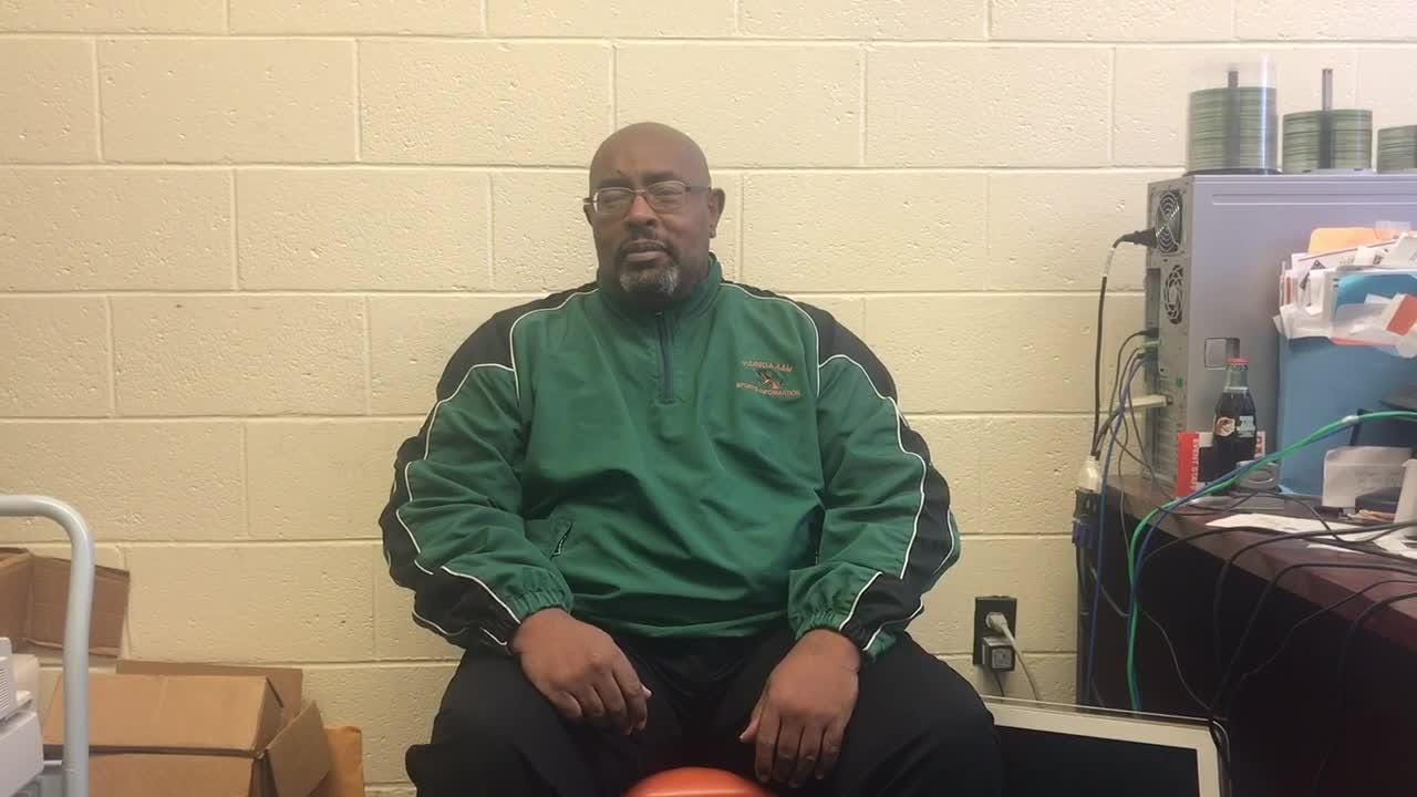 WATCH: Longtime FAMU sports administrator Alvin Hollins discusses his enshrinement in the MEAC Hall of Fame.