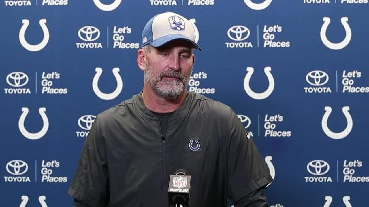 Colts coach Frank Reich on his gutsy calls 313e5018c